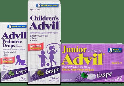 Children's Advil Brand Cluster