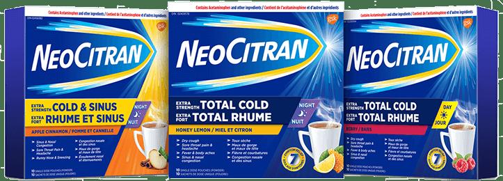 NeoCitran Brand Cluster