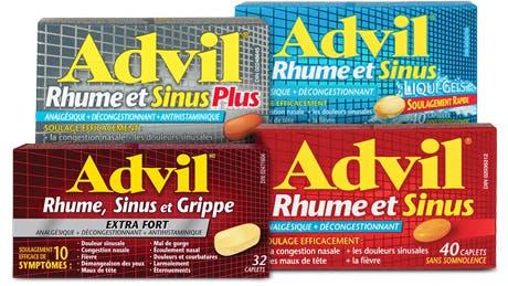 Advil Cold Brand