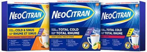 Neocitran Groupshot