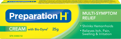 Preparation H Cream Packshot