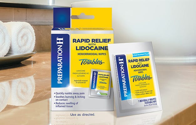 TRY RAPID RELIEF TOTABLES WIPES