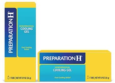 Preparation H Cooling Gel