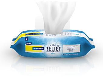 Preparation H Soothing Relief Cleansing and Cooling Wipes
