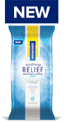 Soothing Relief Cleansing & Cooling Wipes