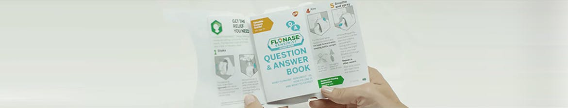 flonase allergy relief nasal spray dosage instructions question and answer book