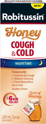 Robitussin Honey Cough and Cold Nighttime