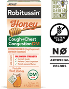 Robitussin Honey Cough + Chest Congestion DM