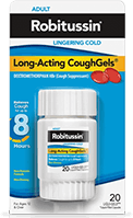 Long-Acting CoughGels Cough Medicine (Over the Counter)