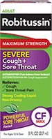 Maximum Strength Severe Cough + Sore Throat