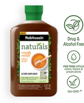 Robitussin Naturals Cough Relief†* Dietary Supplement