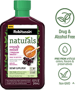 Robitussin Naturals Cough Relief†* Gummies Dietary Supplement