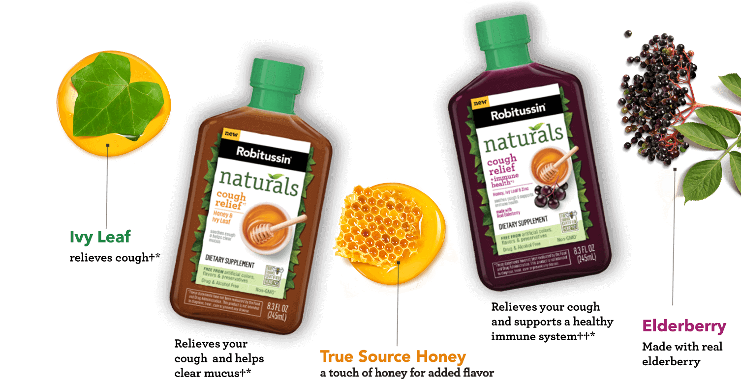 Robitussin naturals cough relief