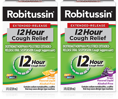 Robitussin 12 Hour Cough Medicine (OTC) Over the Counter
