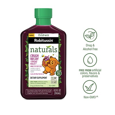Naturals Cough Relief + Immune††* Health Dietary Supplement