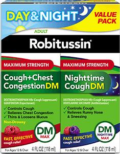MAXIMUM STRENGTH DM DAY/NIGHT PACK