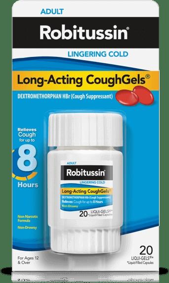 Long-Acting CoughGels