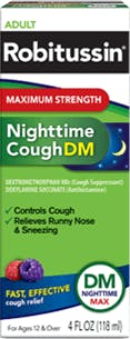 Maximum Strength Nighttime Cough Dm
