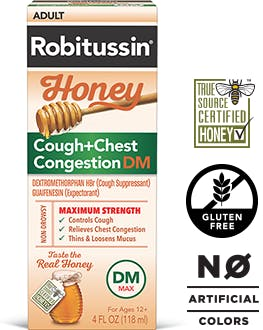 Robitussin Honey Cough + Chest Congestion DM