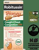 Maximum Strength Honey Cough Chest Congestion DM
