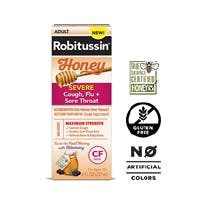 Maximum Strength Honey Severe Cough, Flu + Sore Throat