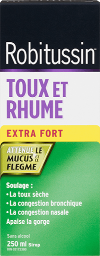Robitussin Toux et Rhume Extra Fort