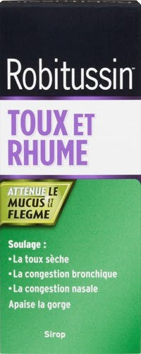 Robitussin Toux Et Rhume