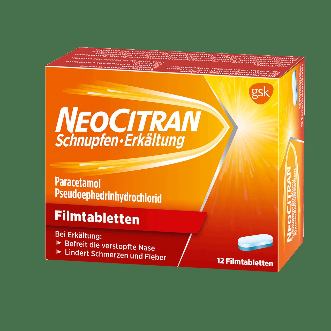 NeoCitran Schnupfen/Erkältung Filmtabletten