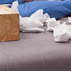 HOW COLD AND FLU VIRUSES SPREAD