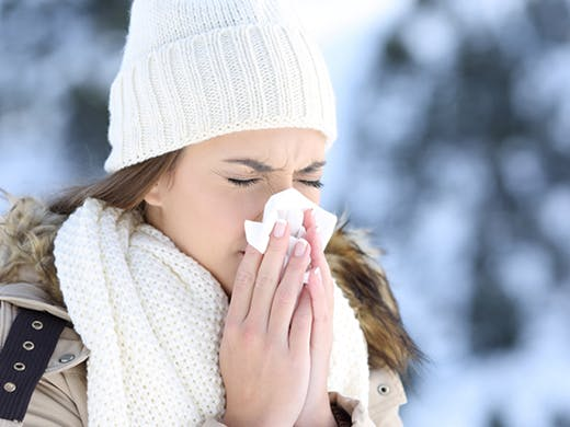3 REASONS YOU'RE MORE SUSCEPTIBLE TO GETTING SICK IN THE WINTER