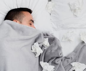 7 Tips For Getting a Good Night's Sleep When You're Sick