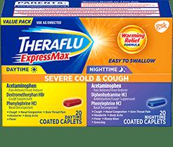 Theraflu® ExpressMax® Severe Cold & Cough Value Pack Caplets