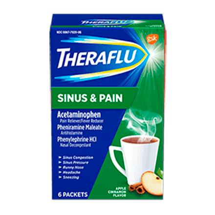 Theraflu Sinus & Pain