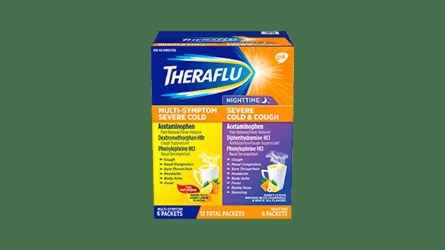 Day/Night Cold & Flu Medicine Value Pack