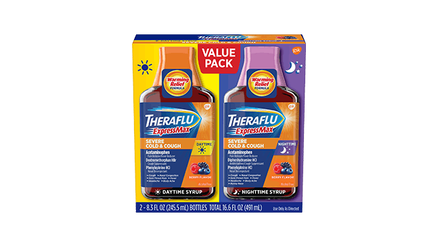 Theraflu® ExpressMax® Day/Night Value Pack Syrup