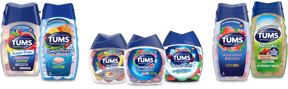 TUMS Antacids Products