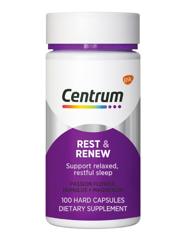 Bottle of Centrum Rest and Renew