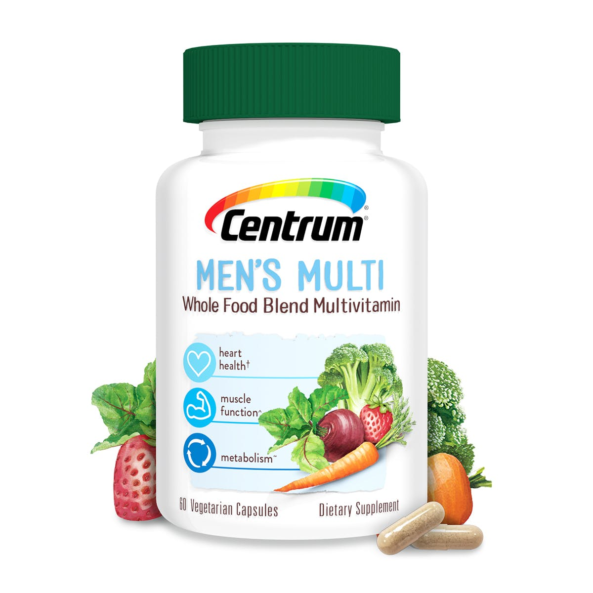 Centrum Men's Whole Food Blend Multivitamin