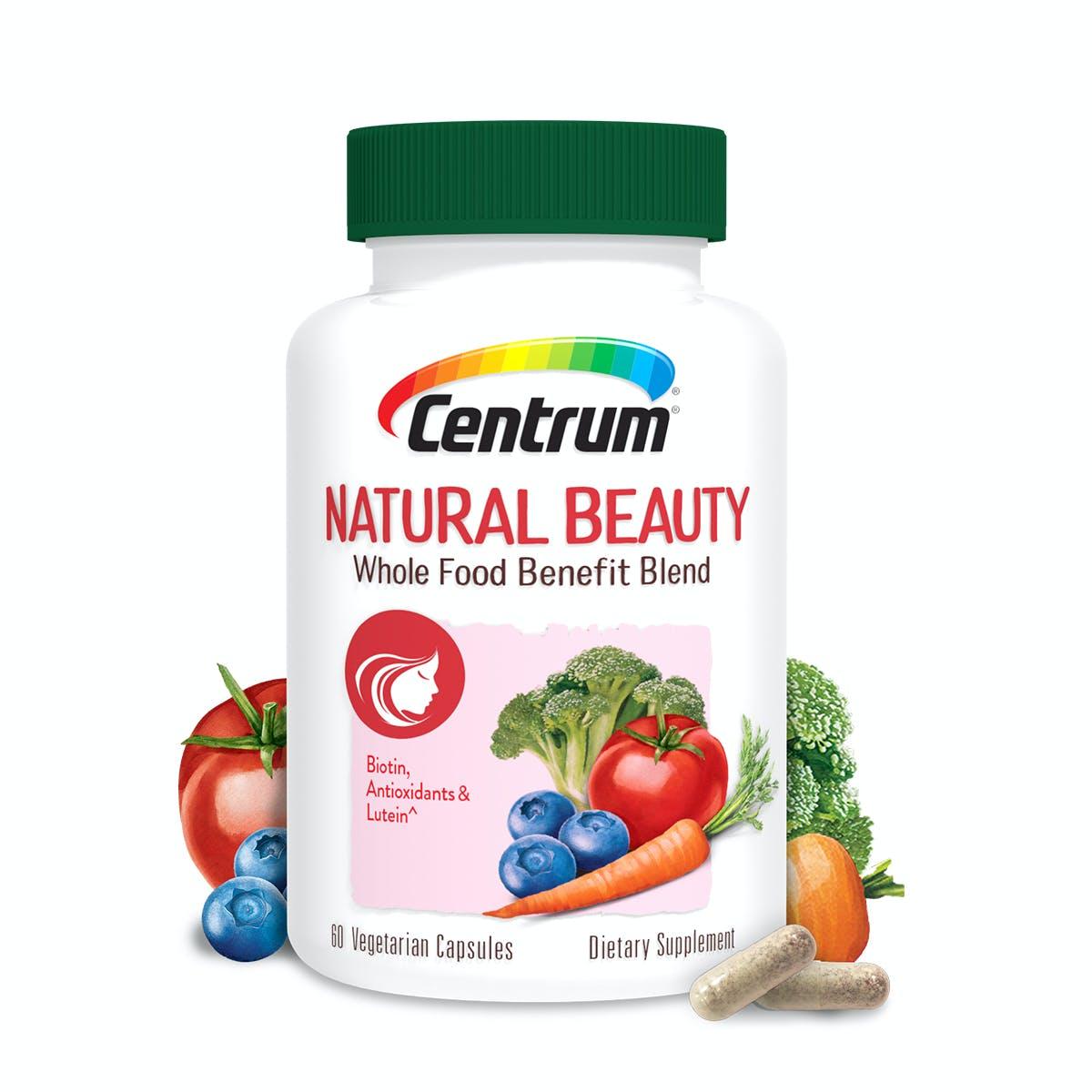 Centrum Natural Beauty Whole Food Benefit Blend
