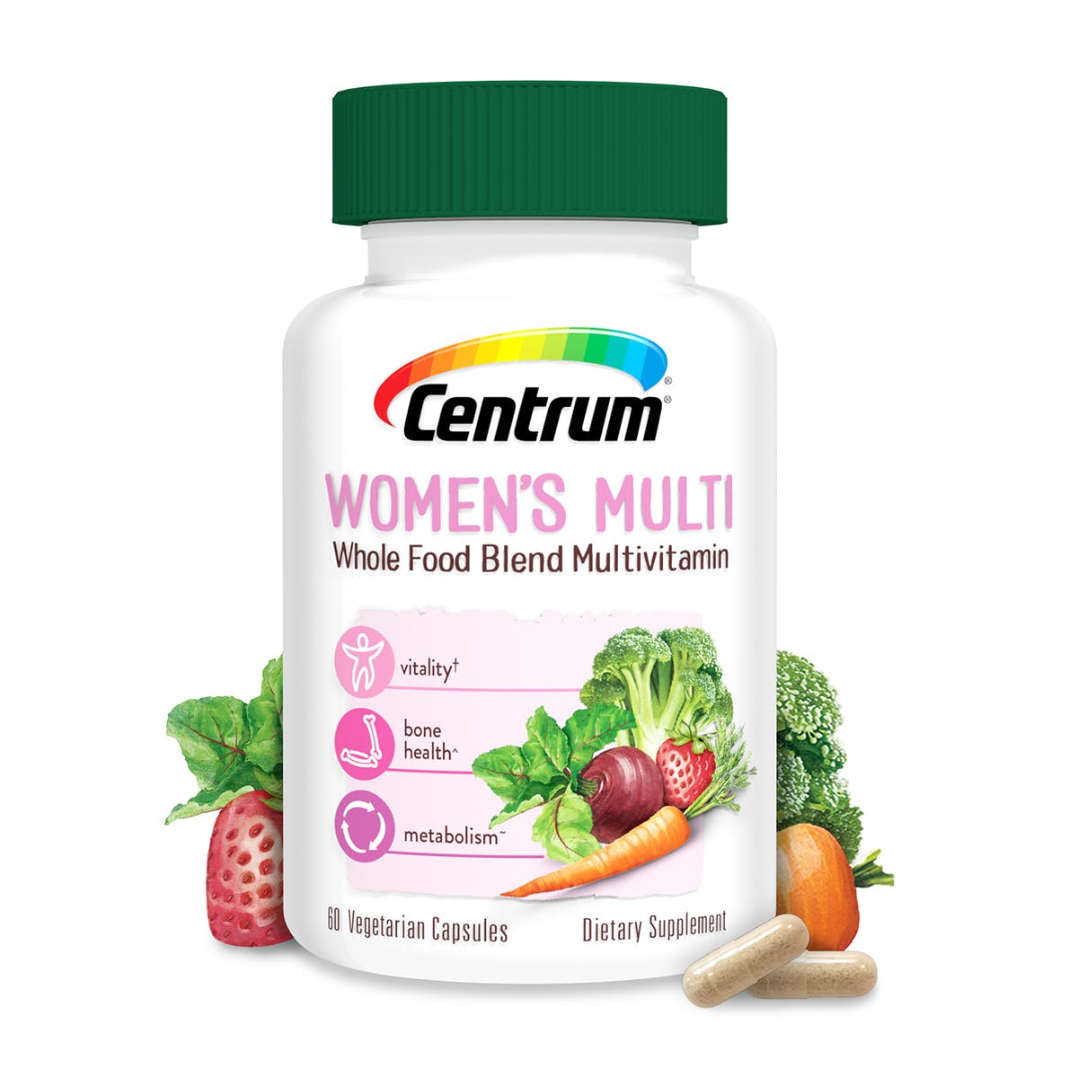 Centrum Women's Whole Food Blend Multivitamin