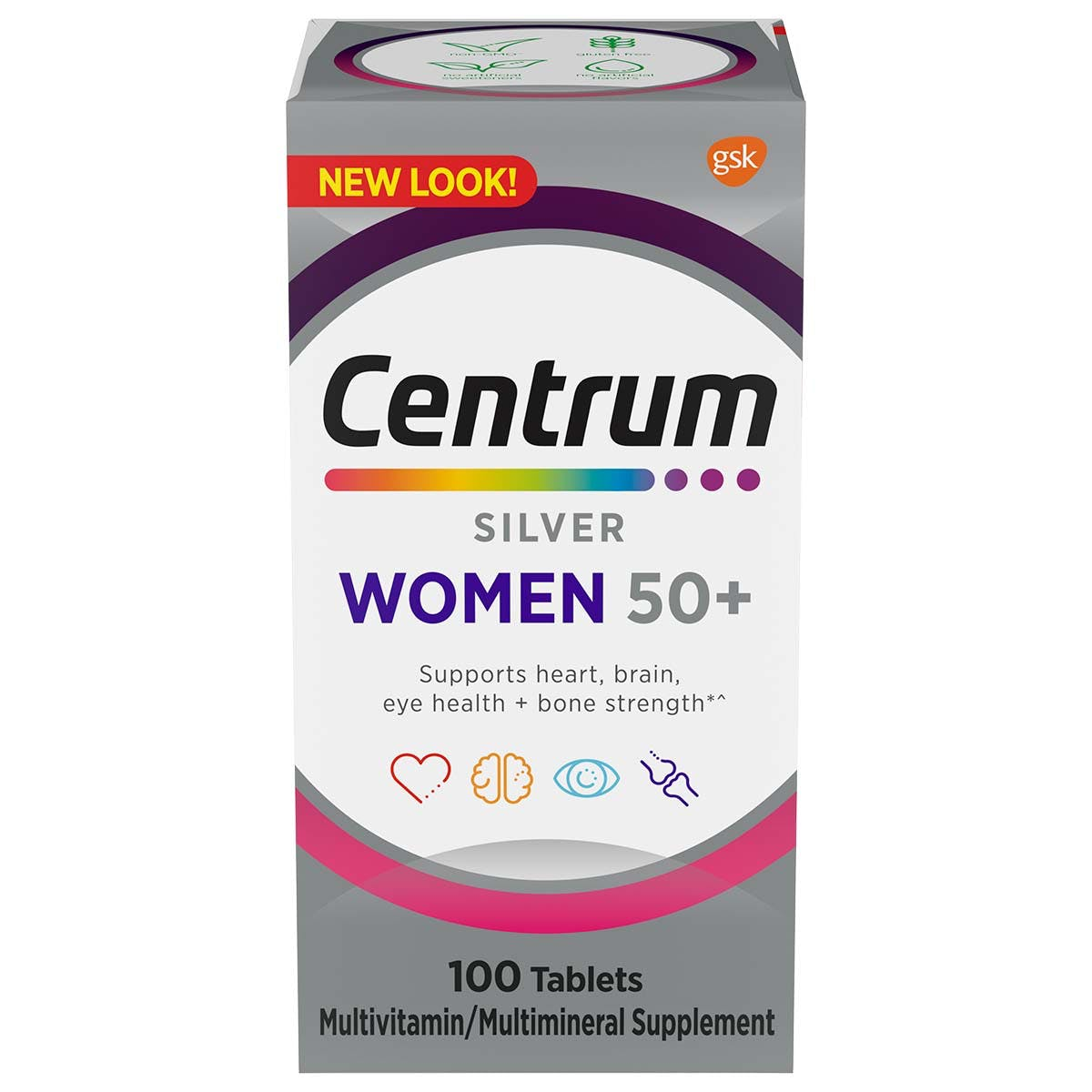Box of Centrum Silver Womens multivitamins