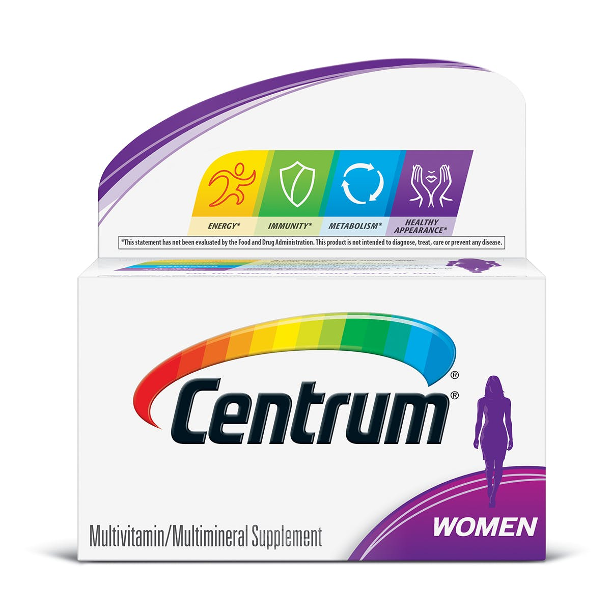 Box of Centrum Women multivitamins