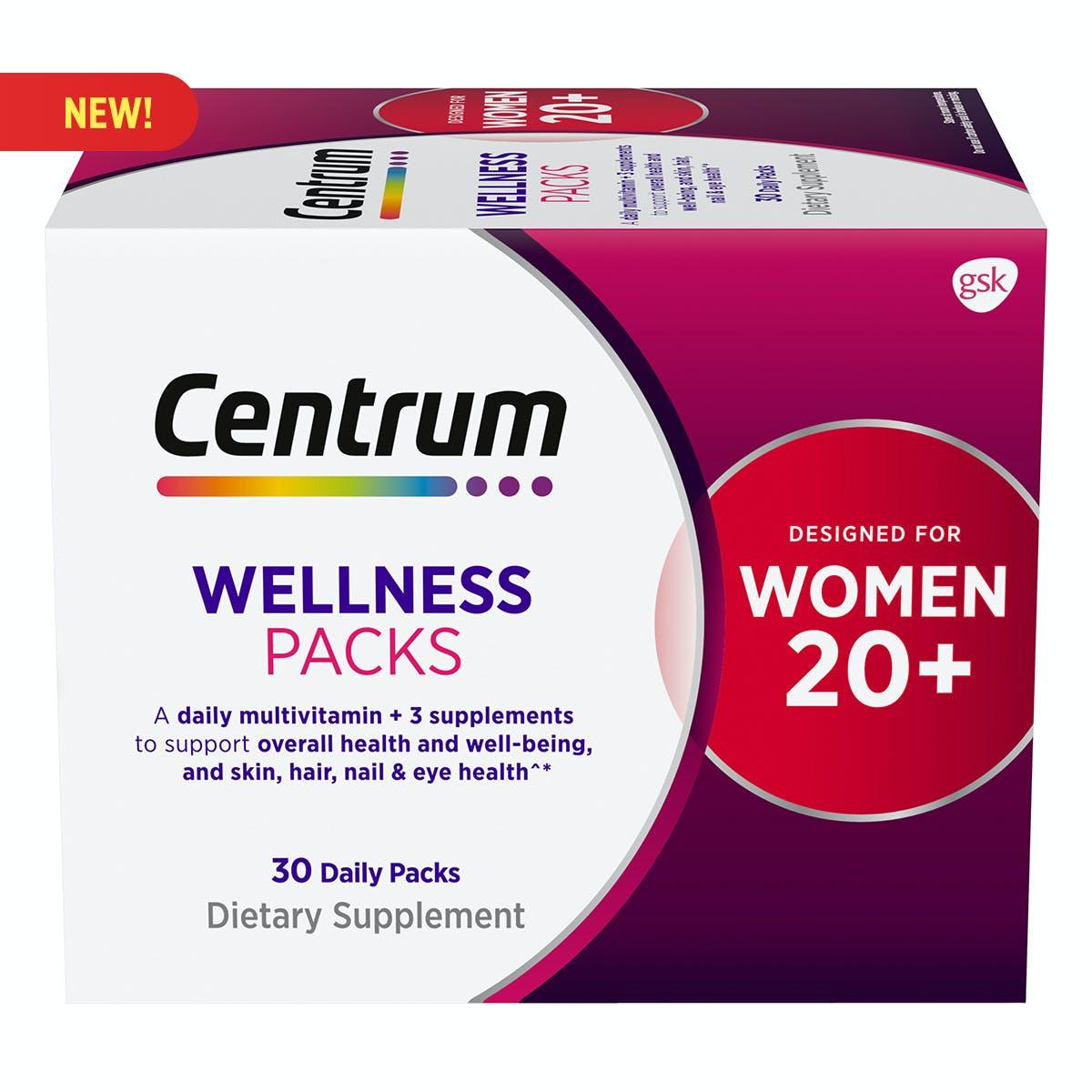 Centrum Daily Vitamin Packs Women 20+