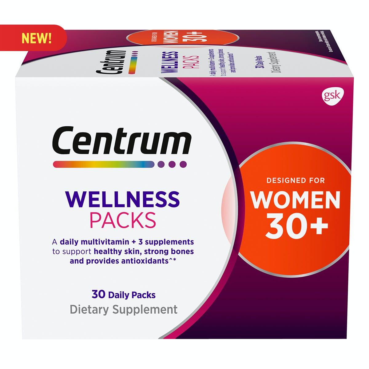 Daily Vitamin Packs Women 30+