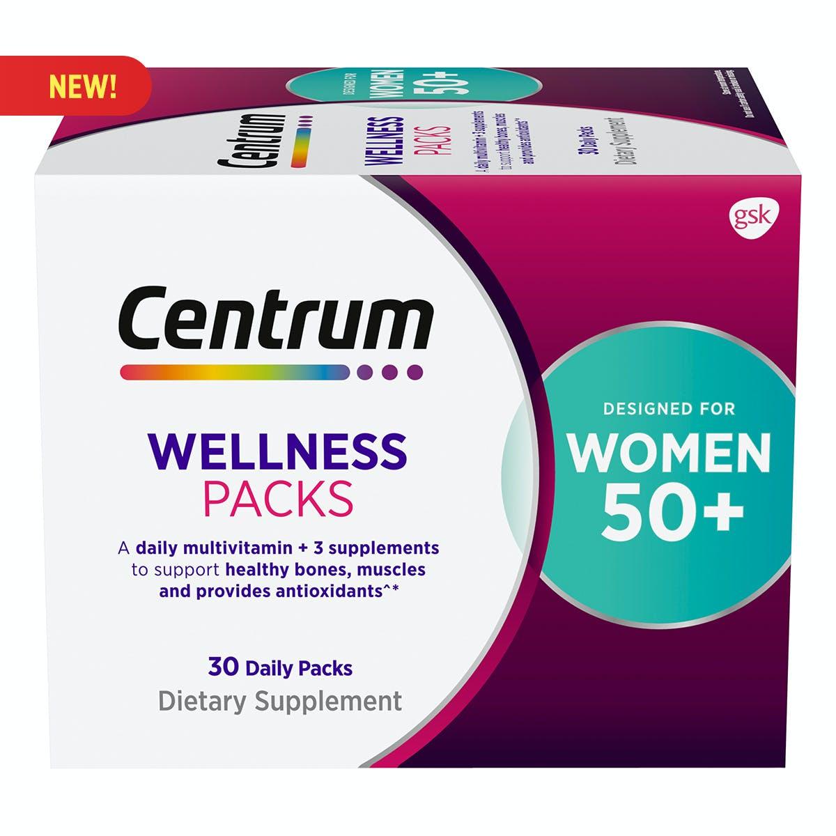 Centrum Daily Vitamin Packs Women 50+