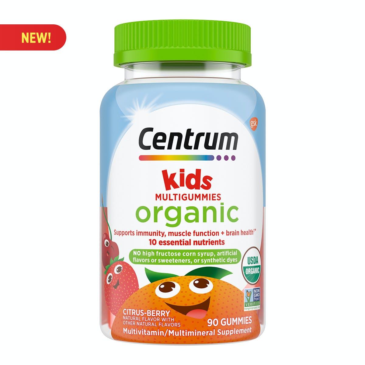 Centrum Organic Kids Multigummies