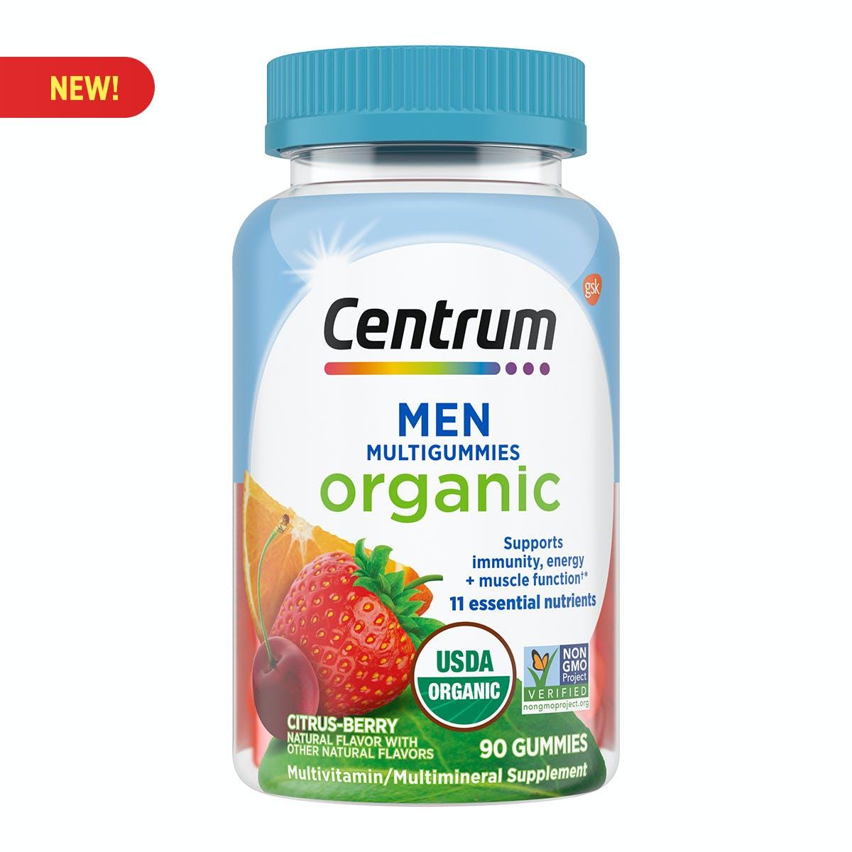 Centrum Organic Men Multigummies