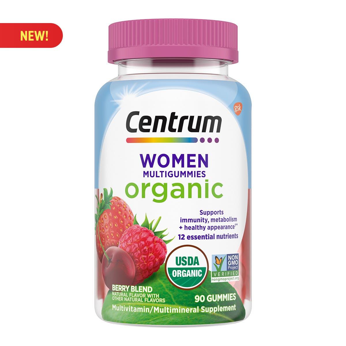 Centrum Organic Womens Multigummies