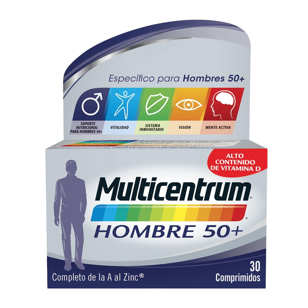 Multivitaminas Hombre 50+ - Multicentrum