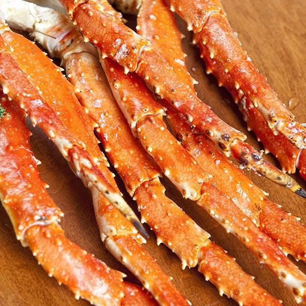 Alaska king crab image